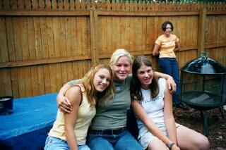 Sarah, Rissy, Liz