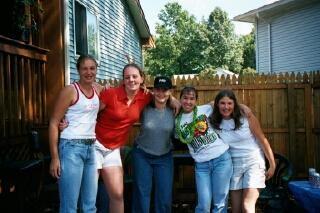Tabitha, Tricia, Rachel, Carlyn, Liz